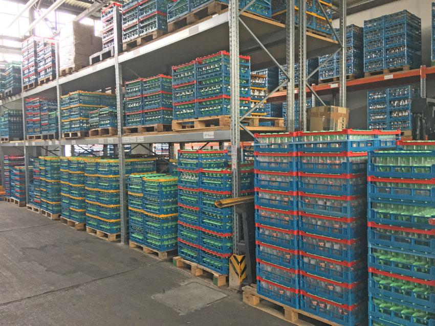 fries-rack glaeserkörbe 50x50 cm im lager
