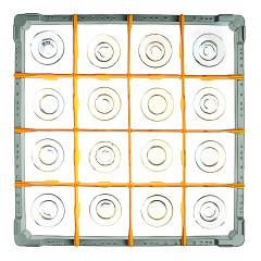 Fries Rack Korb A für 16 Gläser Glashöhe bis 72 mm