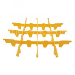 Fries Rack Fachung 4x4 für Korb 50x50
