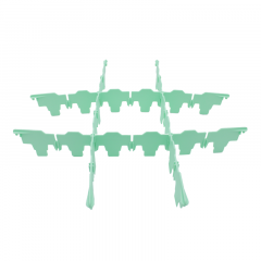 Fries Rack Fachung 3x3 für Korb 50x50