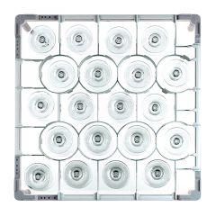 Fries Rack Korb S für 20 Gläser Glashöhe bis 115 mm