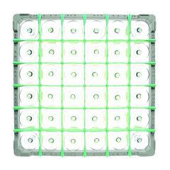 Fries Rack Korb S für 36 Gläser Glashöhe bis 115 mm